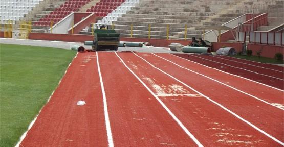 12 Şubat Stadyumu'nda Çalışmalar Sürüyor!