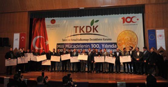 """""""341 PROJE İÇİN 33.7 MİLYON TL HİBE ALMIŞIZ"""""""