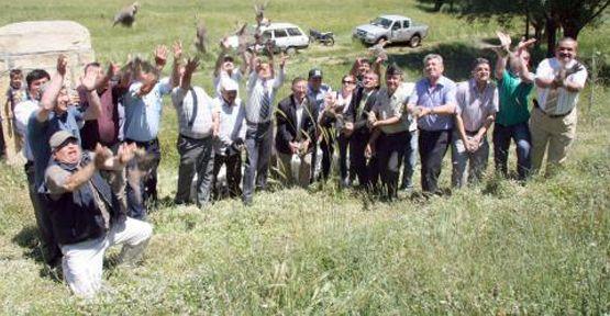 600 Keklik Doğaya Bırakıldı