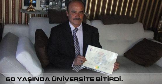 60 Yaşında Üniversite Bitirdi!