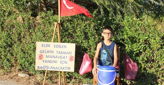AFŞİN'DE 6.SINIF ÖĞRENCİSİ LİMONATA SATIYOR!