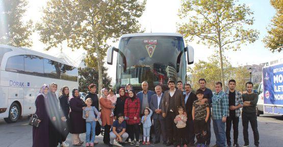 """AFŞİNDER ÜYELERİ """"ŞEHRİM İSTANBUL"""" GEZİSİ YAPTI"""