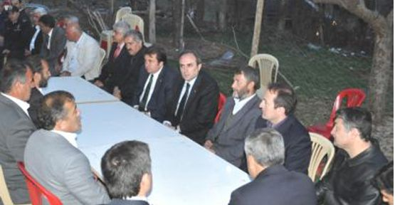 AK Parti Grup Başkanvekili Ünal'dan Şehit Ailesine Taziye Ziyareti