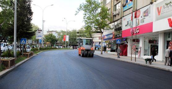 AZERBAYCAN BULVARINDA ASFALT ÇALIŞMALARI
