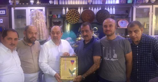 AZERBAYCAN MÜSİAD'TAN MADO'YA ÖDÜL