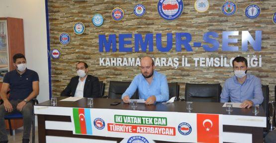 """""""AZERBAYCAN'IN YANINDAYIZ"""