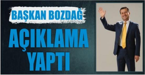 """BAŞKAN BOZDAĞ;""""MEVCUT YOLDAKİ TRAFİK ZİYADESİYLE ARTTIK''"""