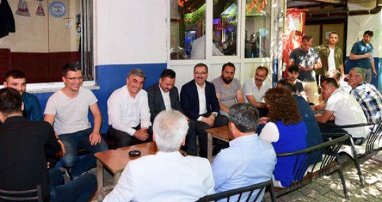BAŞKAN GÜNGÖR ELBİSTAN'DA GEZİ VE İNCELEMELERDE BULUNDU