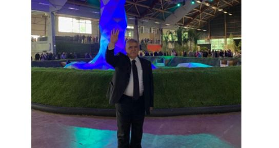 BAŞKAN MAHÇİÇEK EXPO İÇİN FRANSA'DA