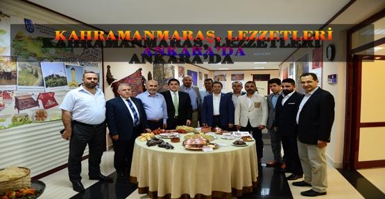 BAŞKENT ANKARA'DA KAHRAMANMARAŞ LEZZETLERİ