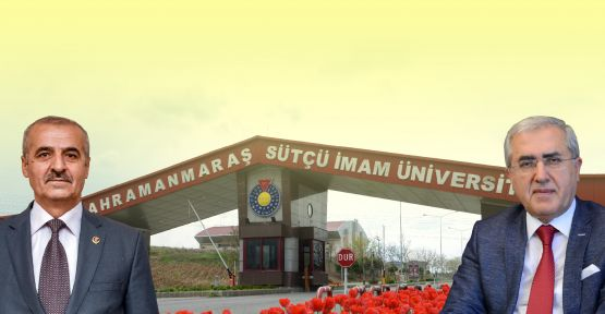 BBP KAHRAMANMARAŞ TEŞKİLATI'NDAN KSÜ REKTÖRÜ CAN'A DESTEK!