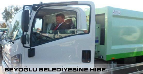 Beyoğlu Belediyesine Hibe