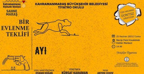 """""""BİR EVLENME TEKLİFİ"""" SAHNELENİYOR"""