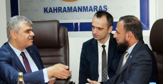 BM GENEL SEKRETERİ KAHRAMANMARAŞ'TA