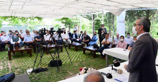 ÇAĞLAYANCERİT'E 30 KİLOMETRELİK YOL