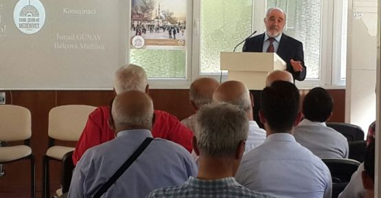 CAMİLER HAFTASI KONFERANSI DÜZENLENDİ