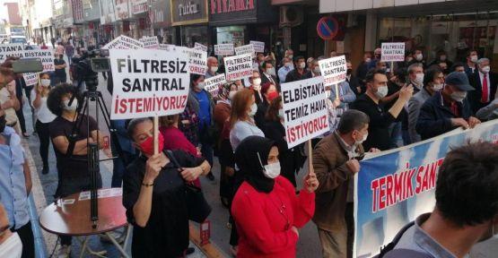 CHP'Lİ ALİ ÖZTUNÇ ELBİSTAN'DA AÇIKLAMALARDA BULUNDU