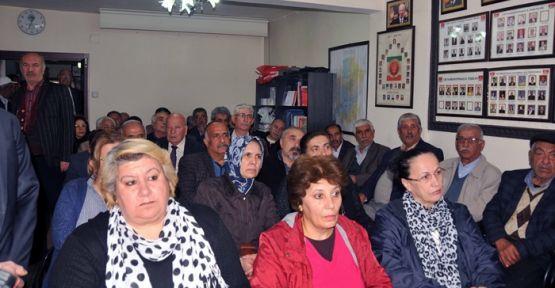 CHP'LİLER HAYIR İÇİN ARAYA GELDİLER