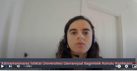 """""""DAVRANIŞSAL BAĞIMLILIK"""" KONFERANSI DÜZENLENDİ"""
