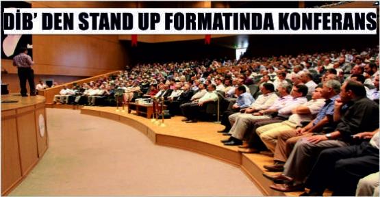 DİB'DEN STAND UP FORMATINDA SEMİNER