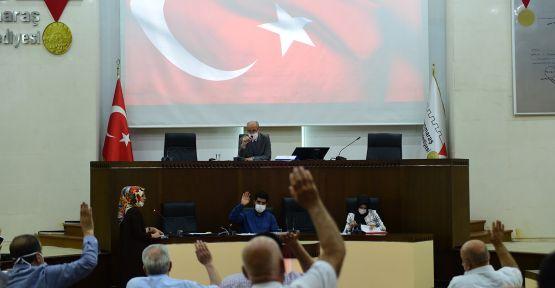 DULKADİROĞLU BELEDİYESİ MECLİS TOPLANTISI  GERÇEKLEŞTİRİLDİ