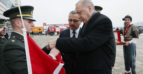 """ERDOĞAN: """"KAHRAMANMARAŞ'IN GURUR GÜNÜ"""""""