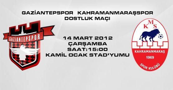 G.ANTEPSPOR-K.MARAŞSPOR'LA KARŞI KARŞIYA GELİYOR!