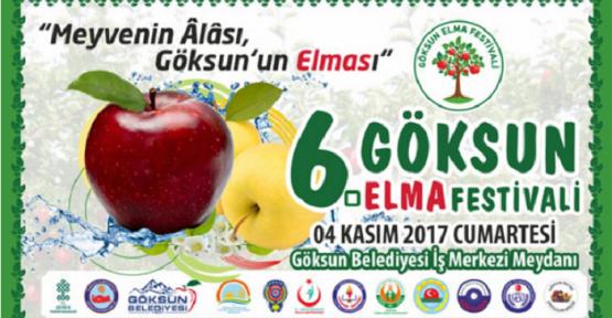GÖKSUN'DA 6. ELMA FESTİVALİ DÜZENLENECEK