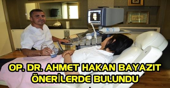 HAMİLE BAYANLAR DİKKAT! DR. HAKAN BAYAZIT, ÖNERİLERDE BULUNDU
