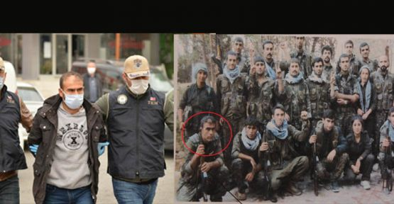 HDP'Lİ PAZARCIK  İLÇE BAŞKAN PKK'NIN DAĞ KADROSUNDAN ÇIKTI