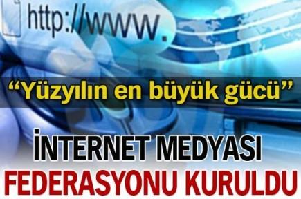 İnternet Medyası Federasyonu kuruldu