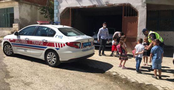 JANDARMA RAMAZAN BAYRAMI'NDA SÜRÜCÜLERİ UYARDI