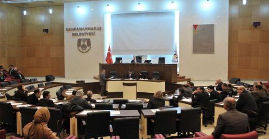 Kahramanmaraş Belediye Meclisi 7 Mart'ta Toplanacak
