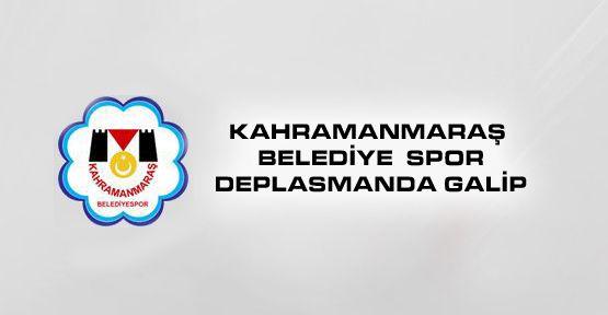 Kahramanmaraş Belediye Spor Deplasmanda Galip!