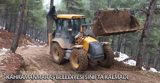 Kahramanmaraş Belediyesi Sınıfta Kalmadı!..