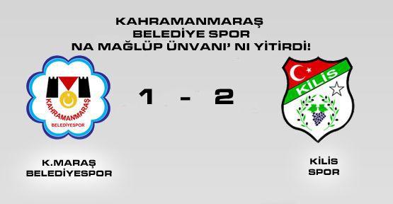 Kahramanmaraş BelediyeSpor Na Mağlüp Ünvanı'nı YİTİRDİ!