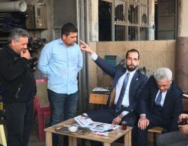 """""""KAHRAMANMARAŞ İÇİN HİZMETE DEVAM EDECEĞİZ"""""""