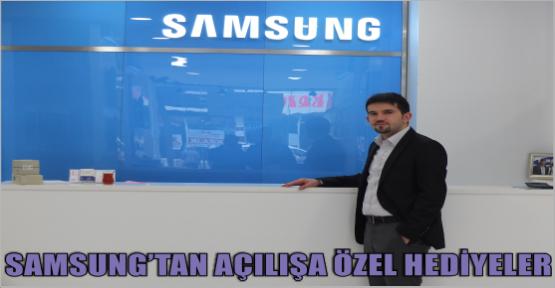 KAHRAMANMARAŞ SAMSUNG'TAN HERKESE HEDİYE