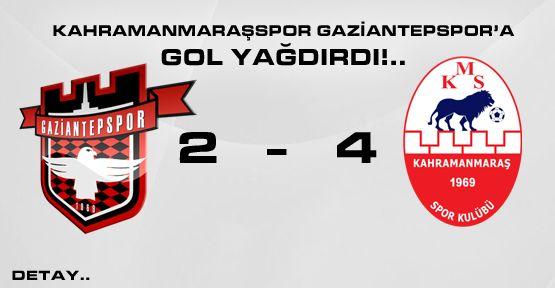 Kahramanmaraşspor Gaziantepspor'a Gol Yağdırdı!