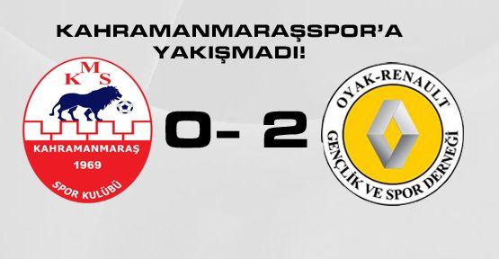 Kahramanmaraşspor'a YAKIŞMADI!
