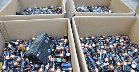 Kahramanmaraş'ta Atık Pil Toplama Kampanyası