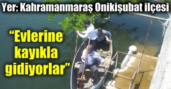 KAHRAMANMARAŞ'TA BÖYLESİ GÖRÜLMEDİ!