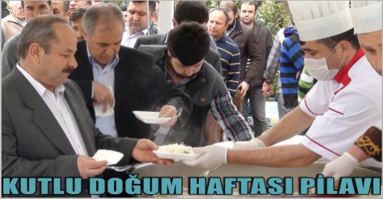 KAHRAMANMARAŞ'TA KUTLU DOĞUM DSİ CAMİNDEN START ALDI