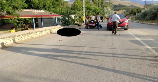 KAHRAMANMARAŞ'TA MOTOSİKLET KAZASI