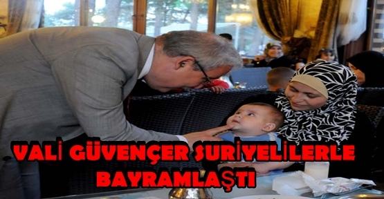 KAHRAMANMARAŞ'TA RAMAZAN BAYRAMI KUTLANIYOR