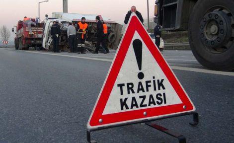 KAHRAMANMARAŞ'TA TRAFİK KAZASI ÇOK SAYIDA YARALI