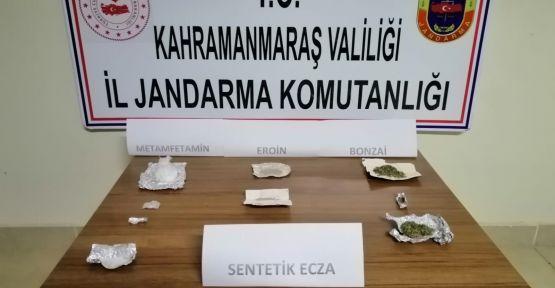 KAHRAMANMARAŞ'TA UYUŞTURUCU ELE GEÇİRİLDİ