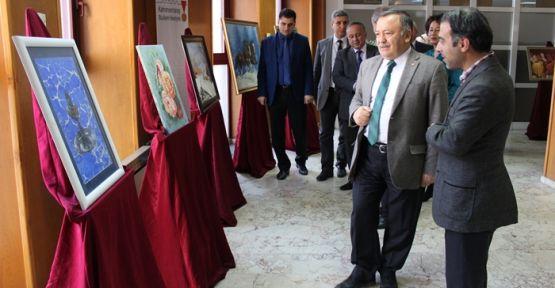 KAMEK'TEN 7. KİŞİSEL RESİM SERGİSİNİ YAPTI
