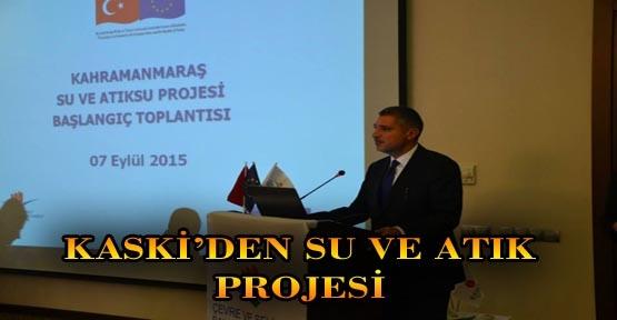 KASKİ'DEN SU VE ATIK PROJESİ TOPLANTISI