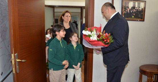 Kipaş Eğitim Kurumları öğrencilerinden Emniyet Müdürlüğüne Ziyaret